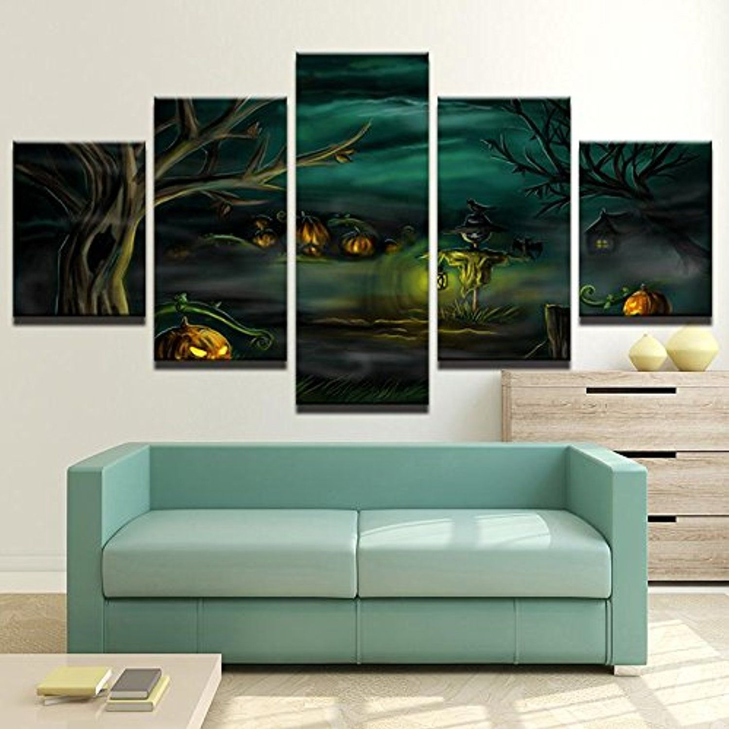 Premium quality canvas printed wall art poster pieces pannel