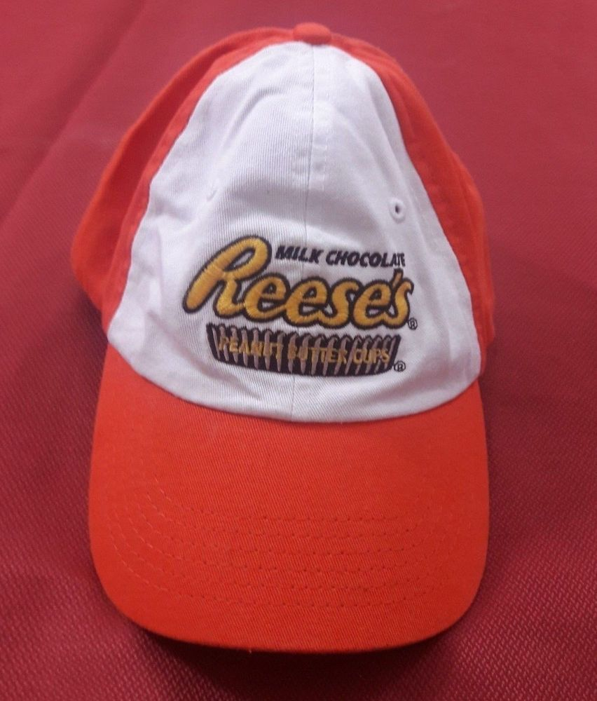 11170867c82 Reeses Peanut Butter Cups Baseball Cap Merchandise Hat One Size Adjustable  NWOT  Unbranded  BaseballCap