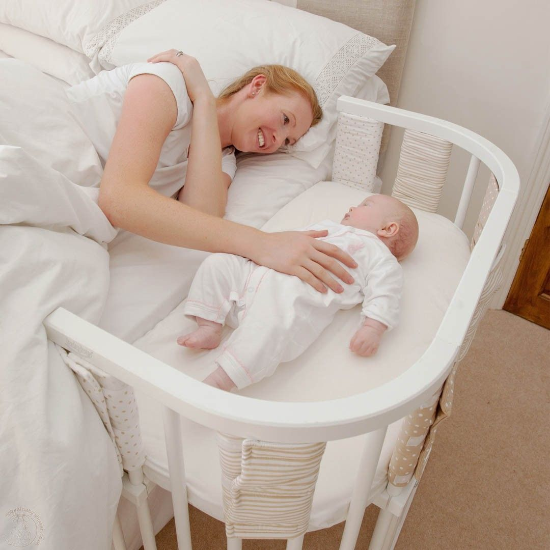 The Joys of co-sleeping I love this idea much better for co sleeping rather than having the baby i n the bed
