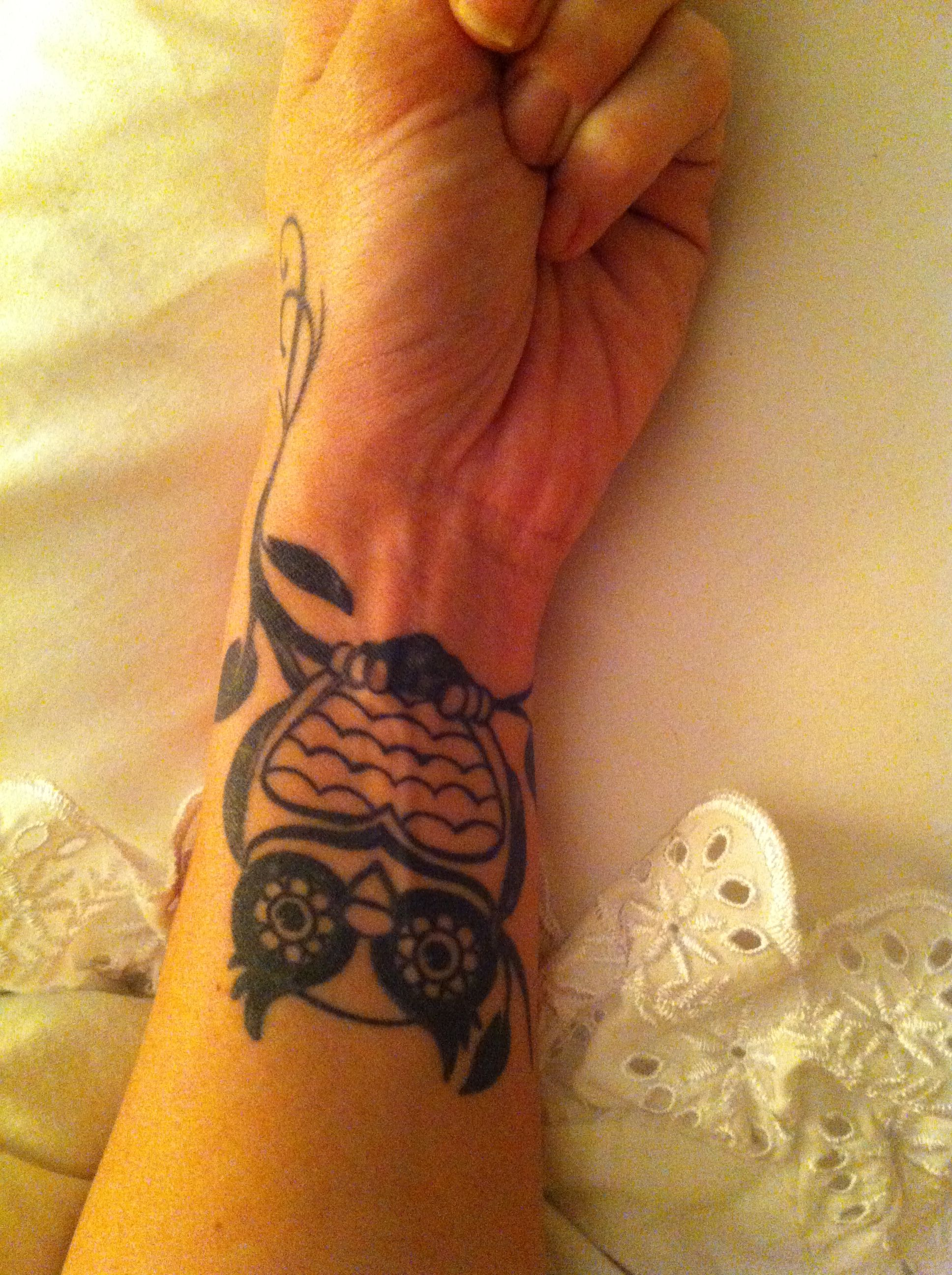 Owl wrist tattoo first tattoo ideas pinterest wrist tattoo
