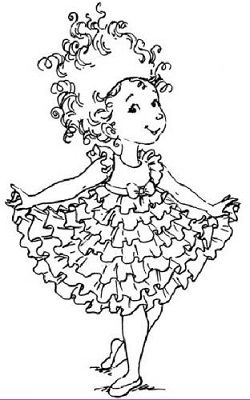 Pin The Tiara On Nancy Coloring Pages Disney Coloring Pages Fancy Nancy