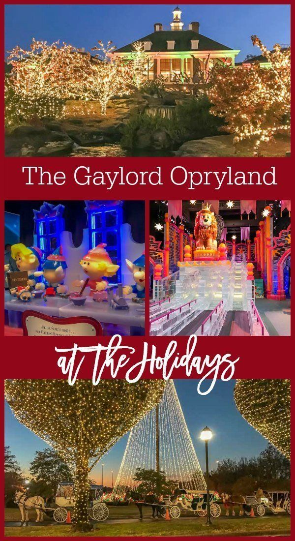 the gaylord opryland hotel christmas events a country christmas including ice carriage rides breakfast with the grinch and more