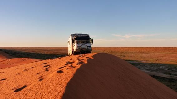 outback adventures in an SLR Adventurer Expedition Vehicle