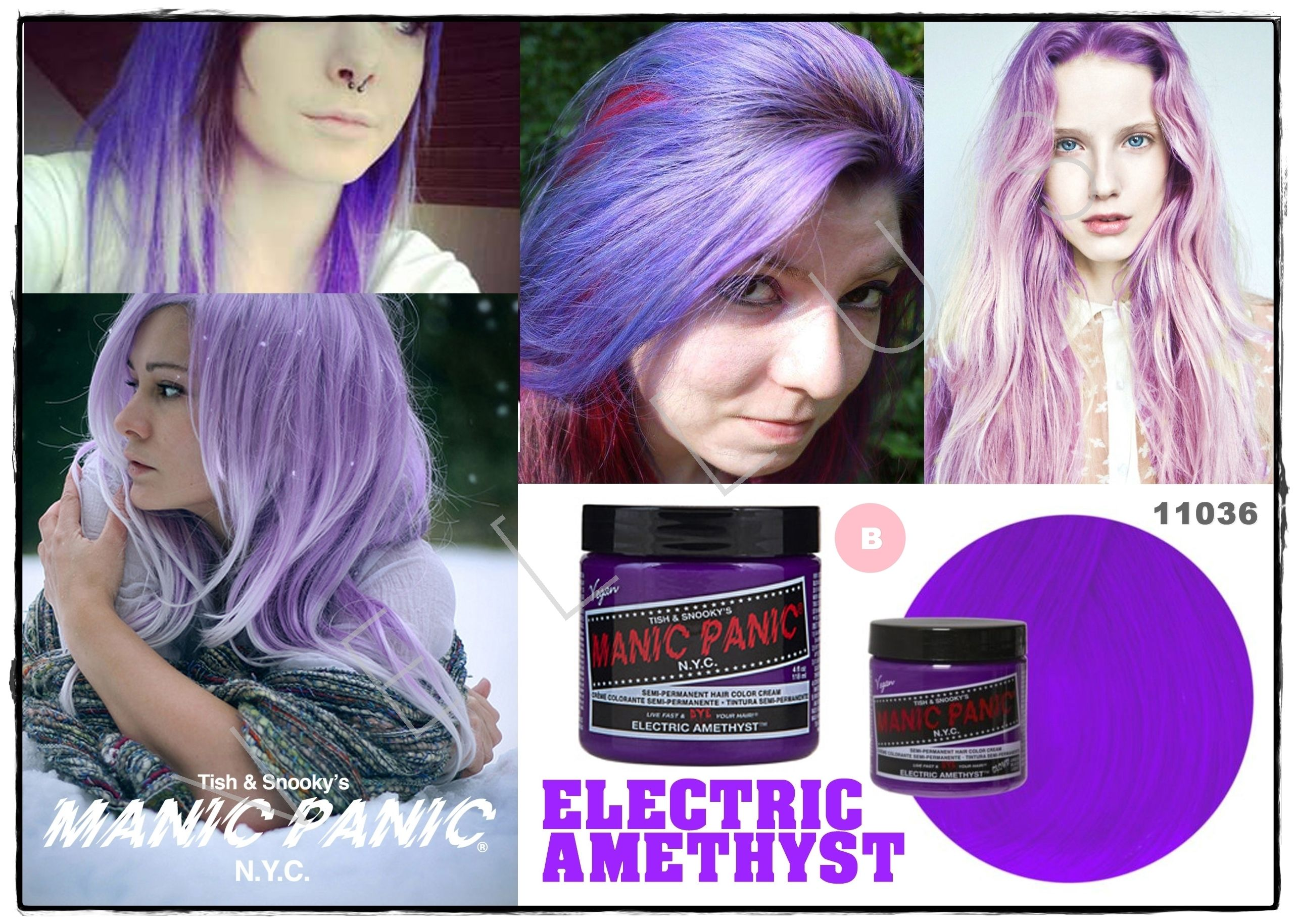 Manic Panic Classic Electric Amethyst Vellus Hair Studio 83a Tanjong Pagar Road S 088504 Tel 62246566 Hair Color Cream Hair Studio Manic Panic Hair Dye