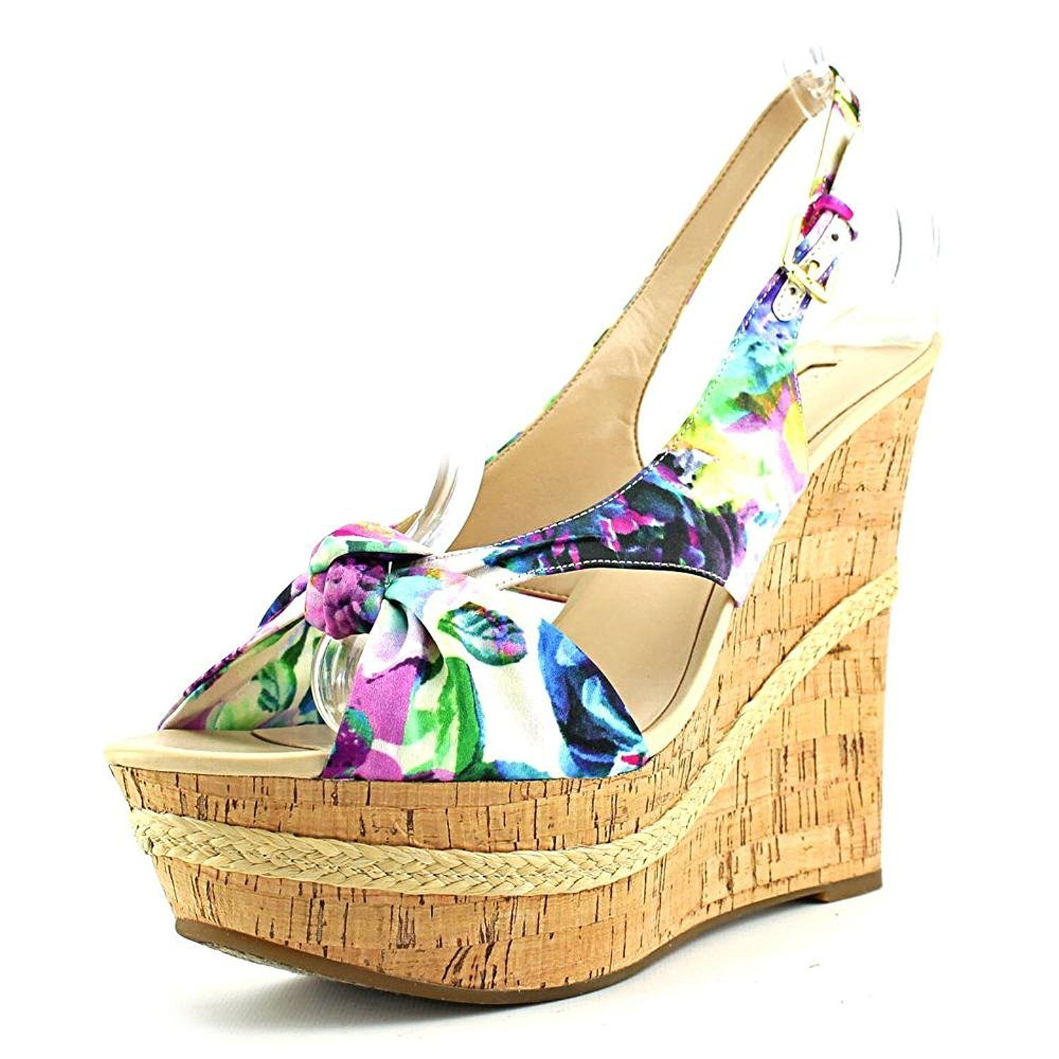 Guess Women S Delilan Open Toe Slingback Platform Wedge Find Out More Details By Clicking The Image Platform Women Platform Sandals Platform Wedges Wedges