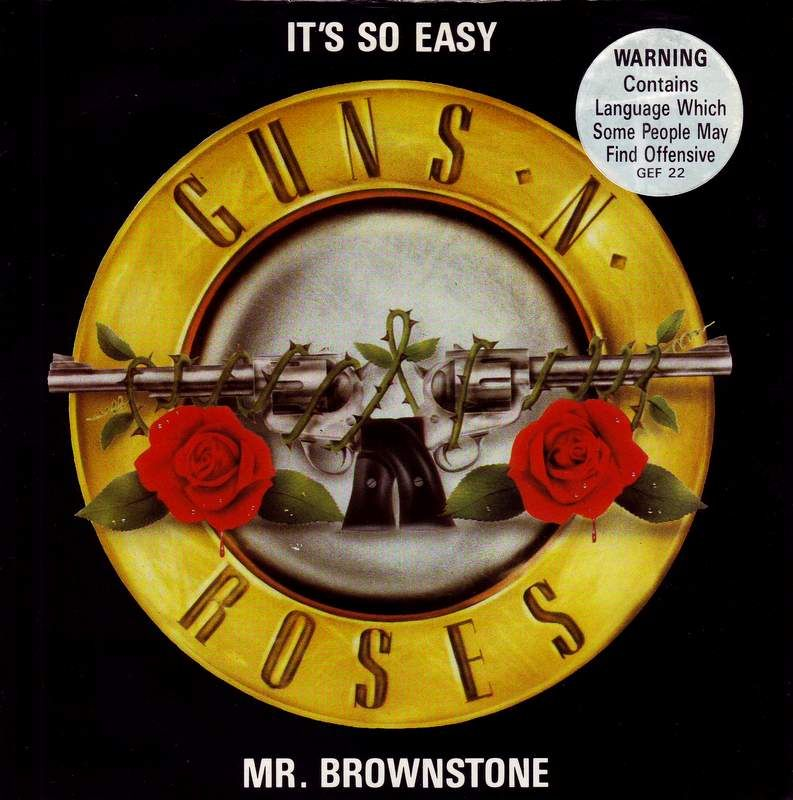 Lyric mr brownstone lyrics : MarAnthony's Personal Collection Gallery | GNR Lies Box Set Japan ...