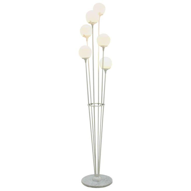 Italian Alberello Floor Lamp, attr. to Stilnovo | Floor lamp ...
