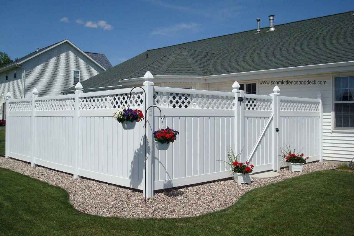 50 stunning backyard privacy fence ideas decorations and on backyard garden fence decor ideas id=89061