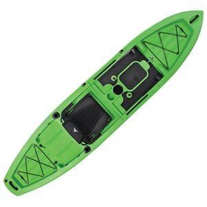 Ascend 12t Sit On Top Lime Kayak Kayak Fishing Tips Kayaking Kayak Fishing