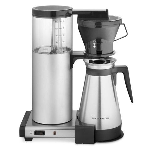 coffee pot with metal carafe