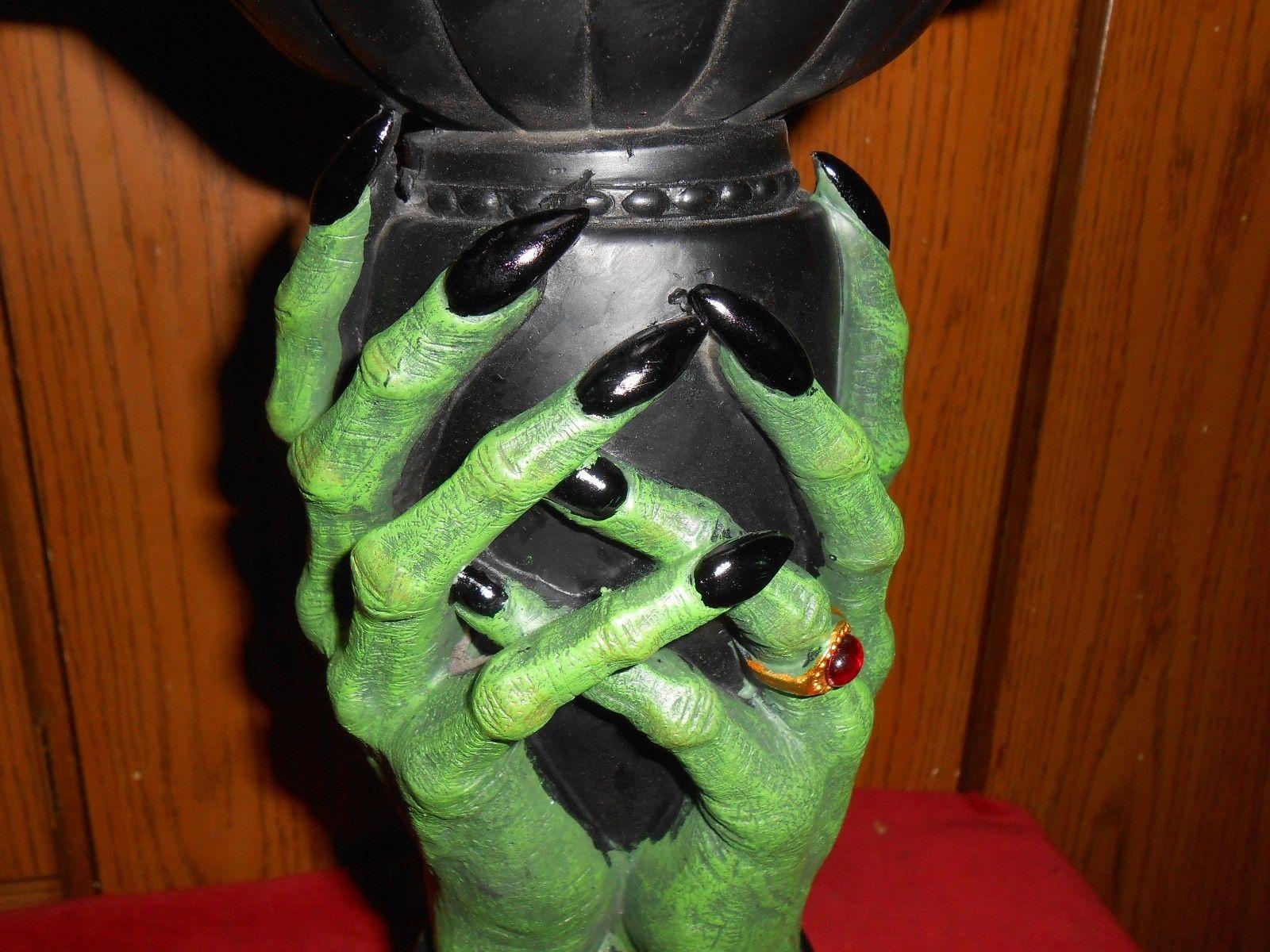 grandin road wicked candle holder new in box great halloween decoration ebay - Halloween Decorations Ebay