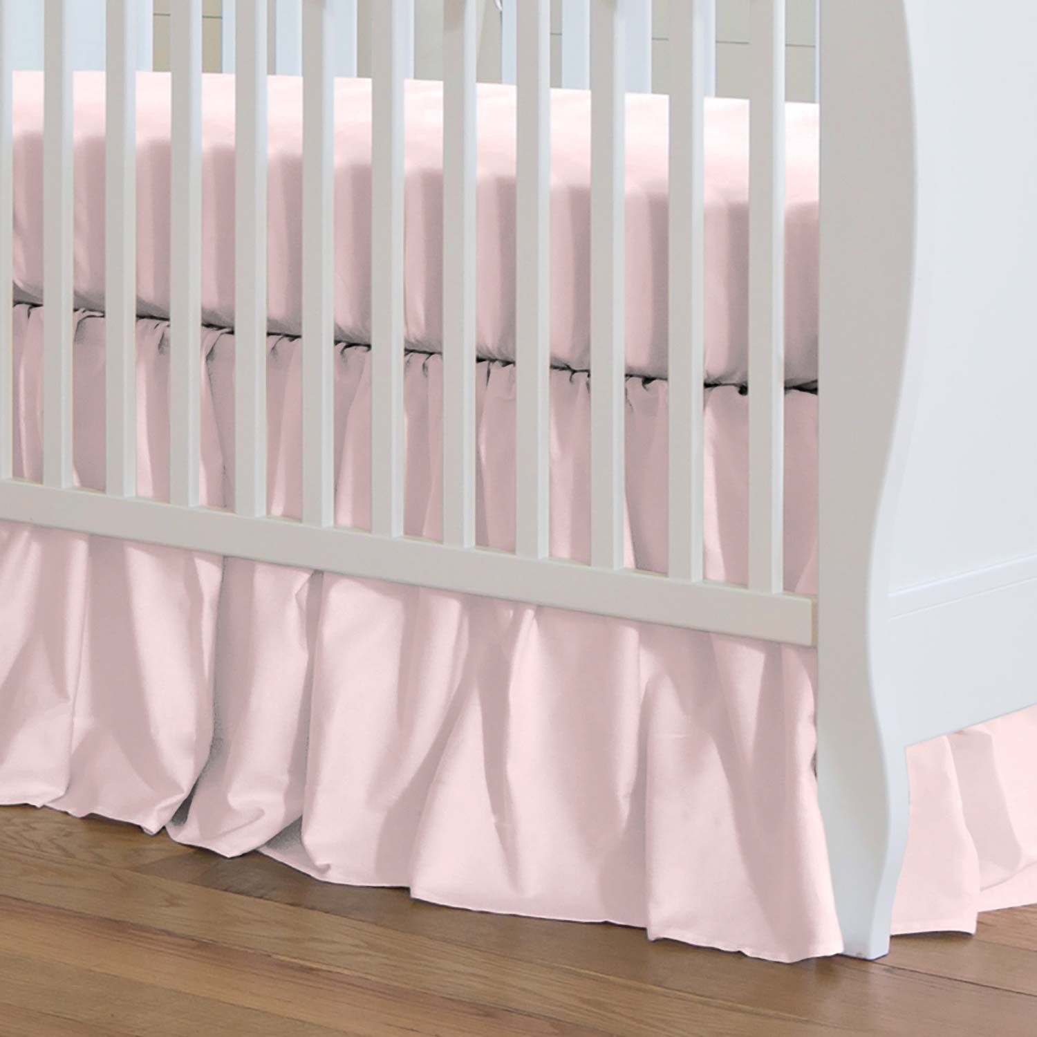 baby ruffle and amazon mint com piece dp bedding grey cribs set shell crib by the coral patchwork dust peanut for
