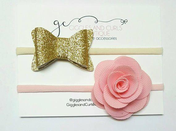 Check out this item in my Etsy shop https://www.etsy.com/listing/515821340/fabric-flower-headband-newborn-headband