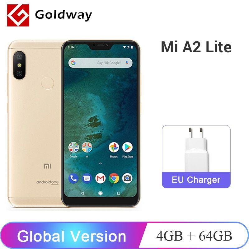 Global Version Xiaomi Mi A2 Lite 4gb Ram 64gb Rom Mobile Phone Snapdragon 625 Octa Core 5 84