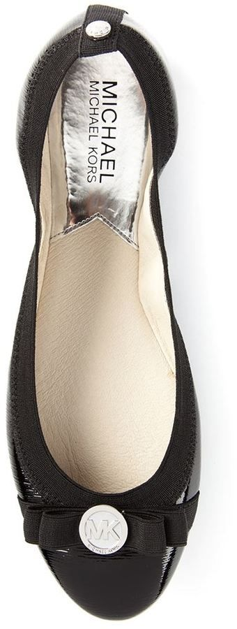 Michael Kors 'Dixie' ribbon ballerinas
