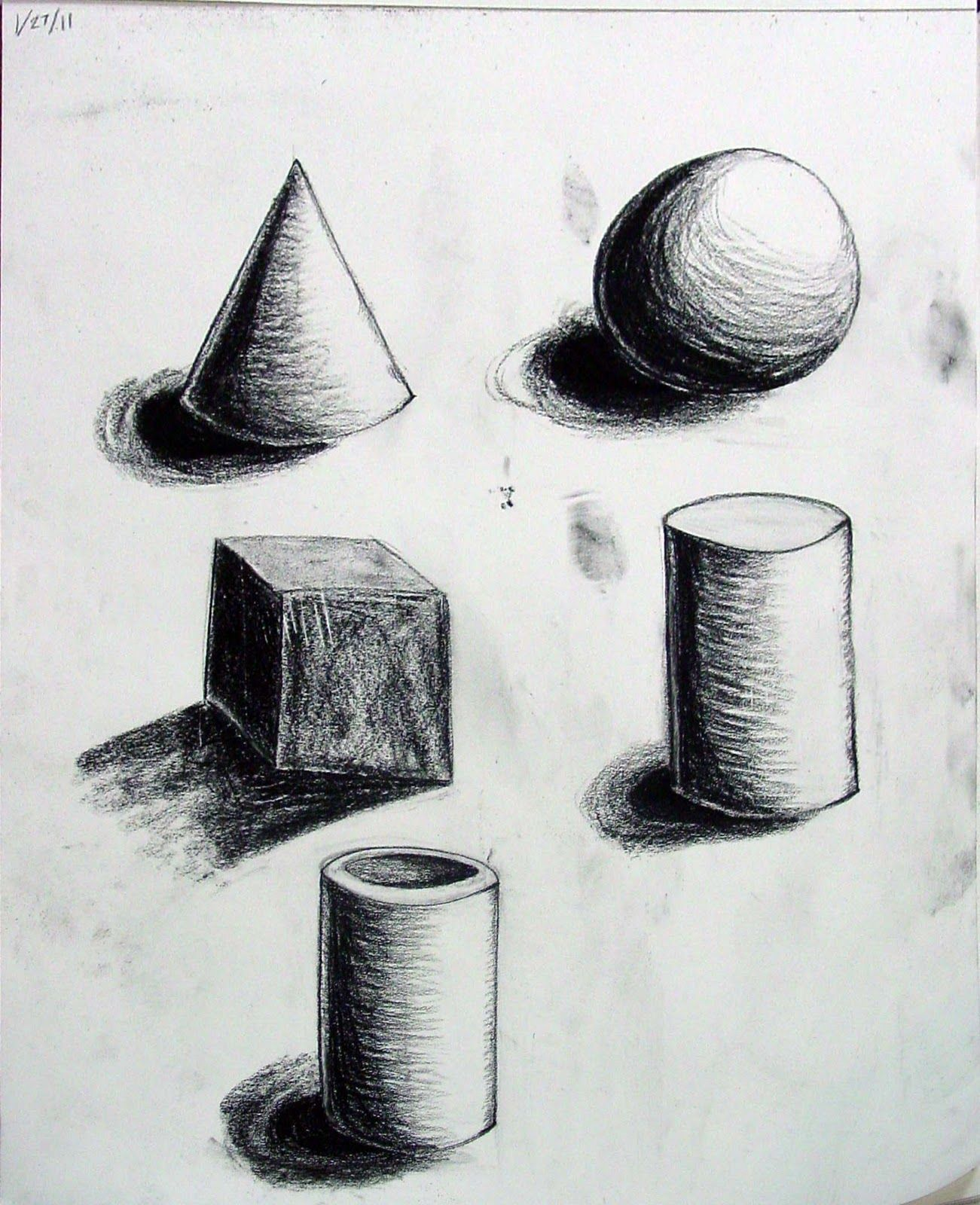 form- these sketches of different shapes in 3d really bring out the