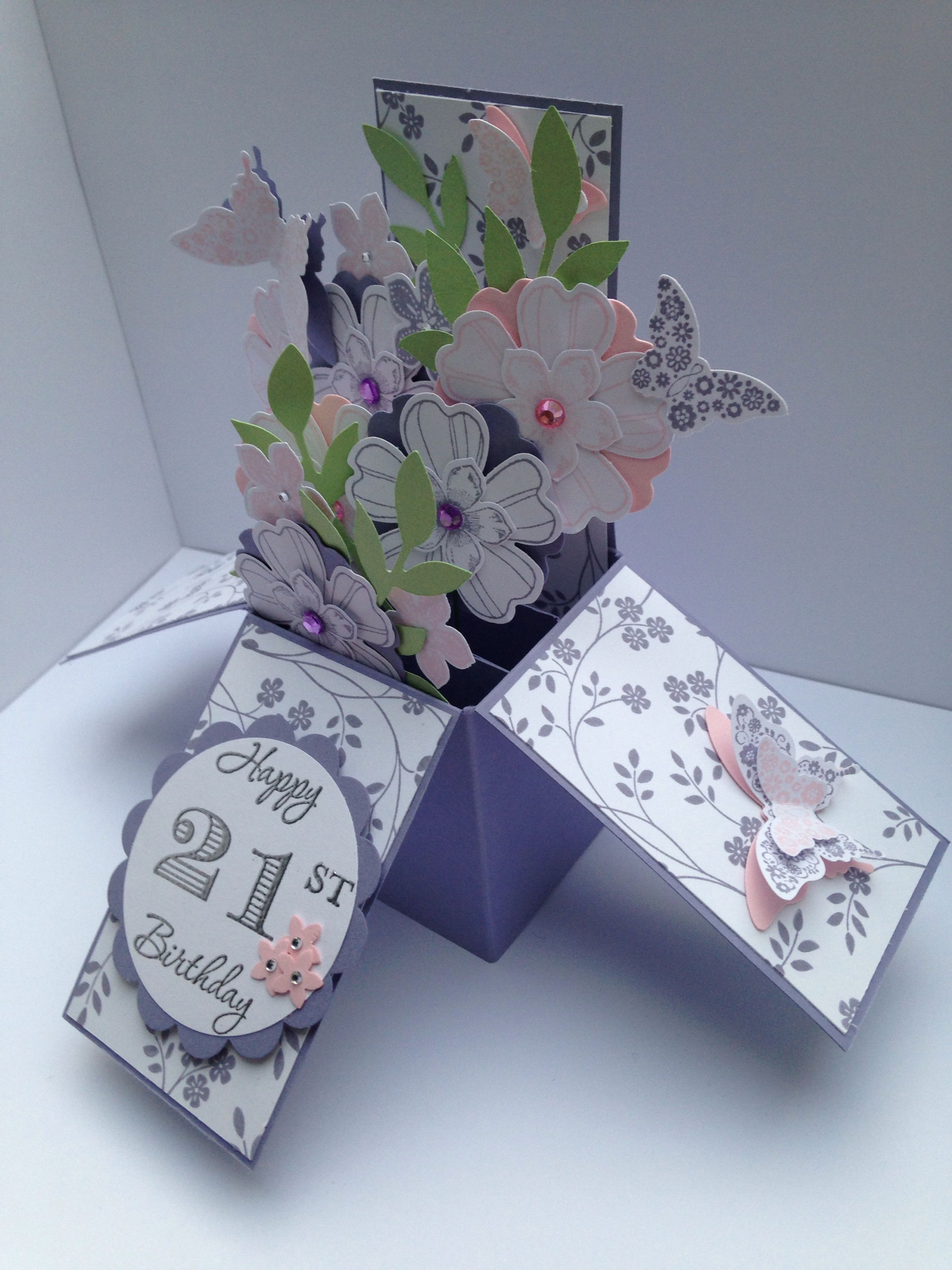 21st Birthday Card 21st Birthday Cards Cards Handmade Beautiful Handmade Cards