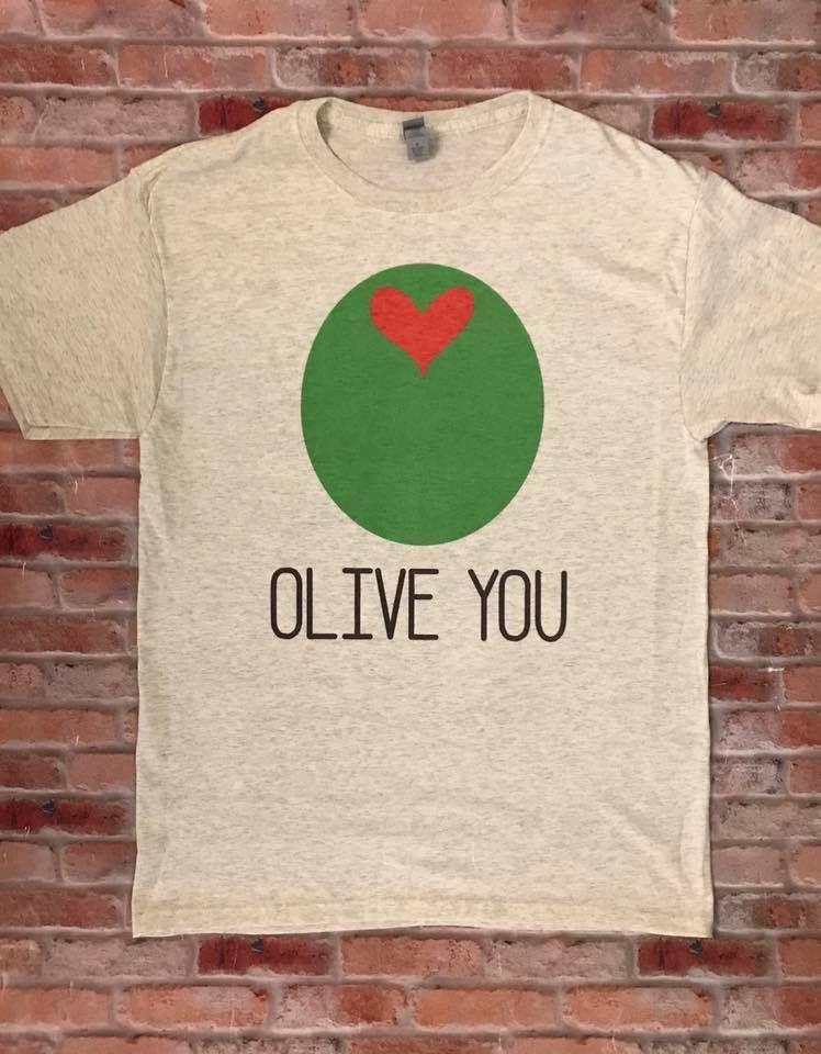Download Olive you, Valentine's Day Shirt, Women's Valentine Shirt ...