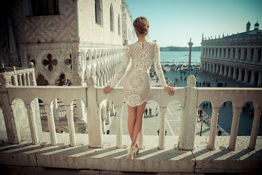 From Venice with Love   Wedding Dresses from Yaki Ravid's 2015 Fall/Winter Bridal Collection   via @StrictlyWeddings