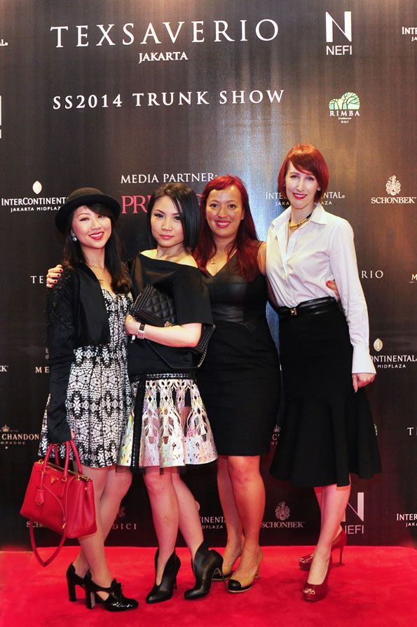 Ms. Maiko Kawano, Ms. Faye Liu and friends