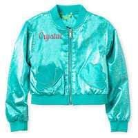Disney Ariel Varsity Jacket for Girls - Personalized #Sponsored , #AFFILIATE, #Varsity#Ariel#Disney #varsityjacketoutfit