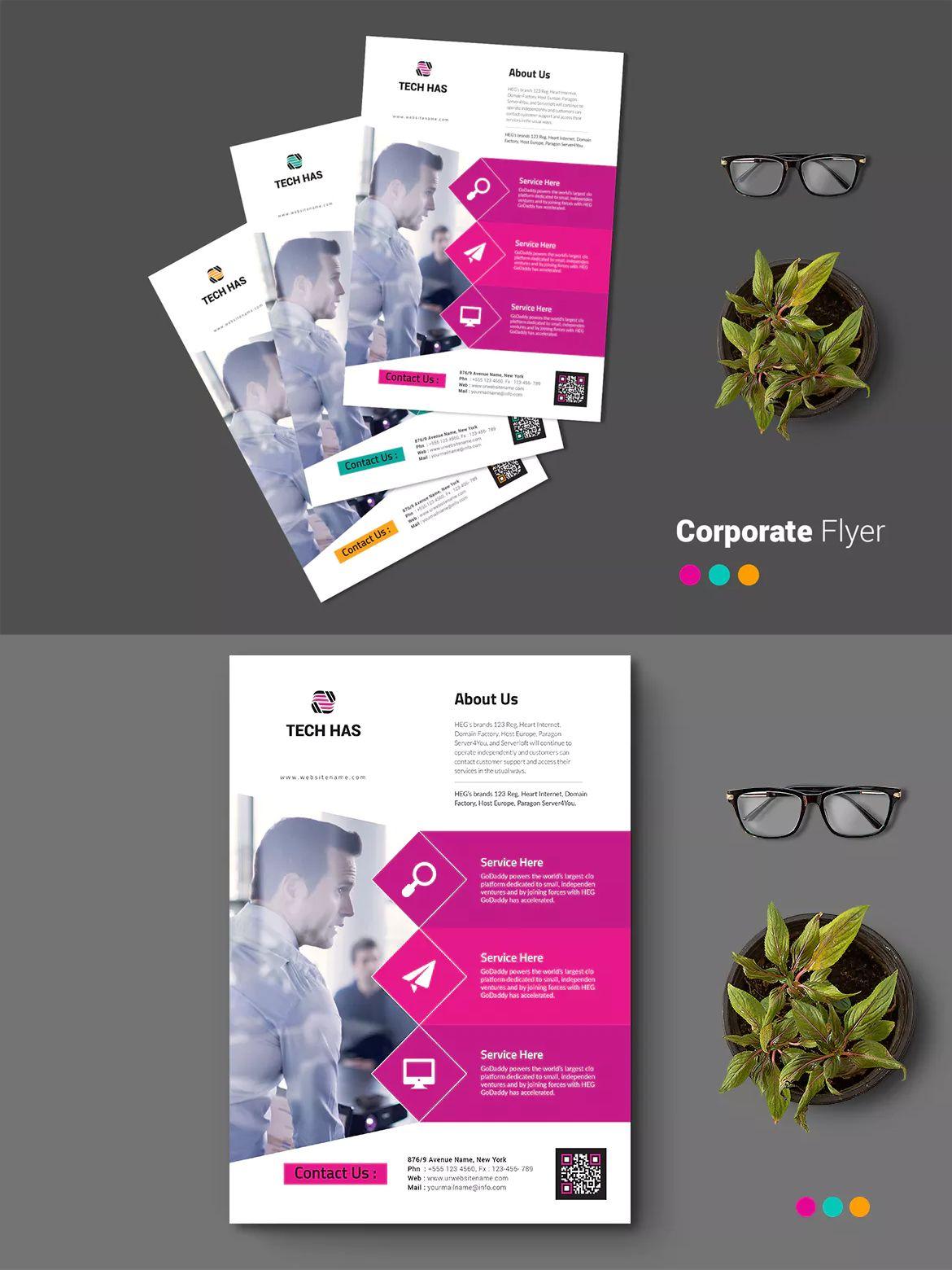 Flyer Samples Templates New Flyer Template Ai Eps A4  Flyer Design Templates  Pinterest .