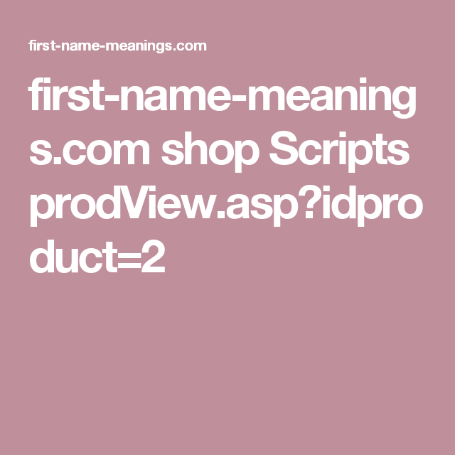 First name meanings shop scripts prodviewpidproduct2 love first name meanings shop scripts prodviewpidproduct2 love pinterest personalised baby negle Choice Image