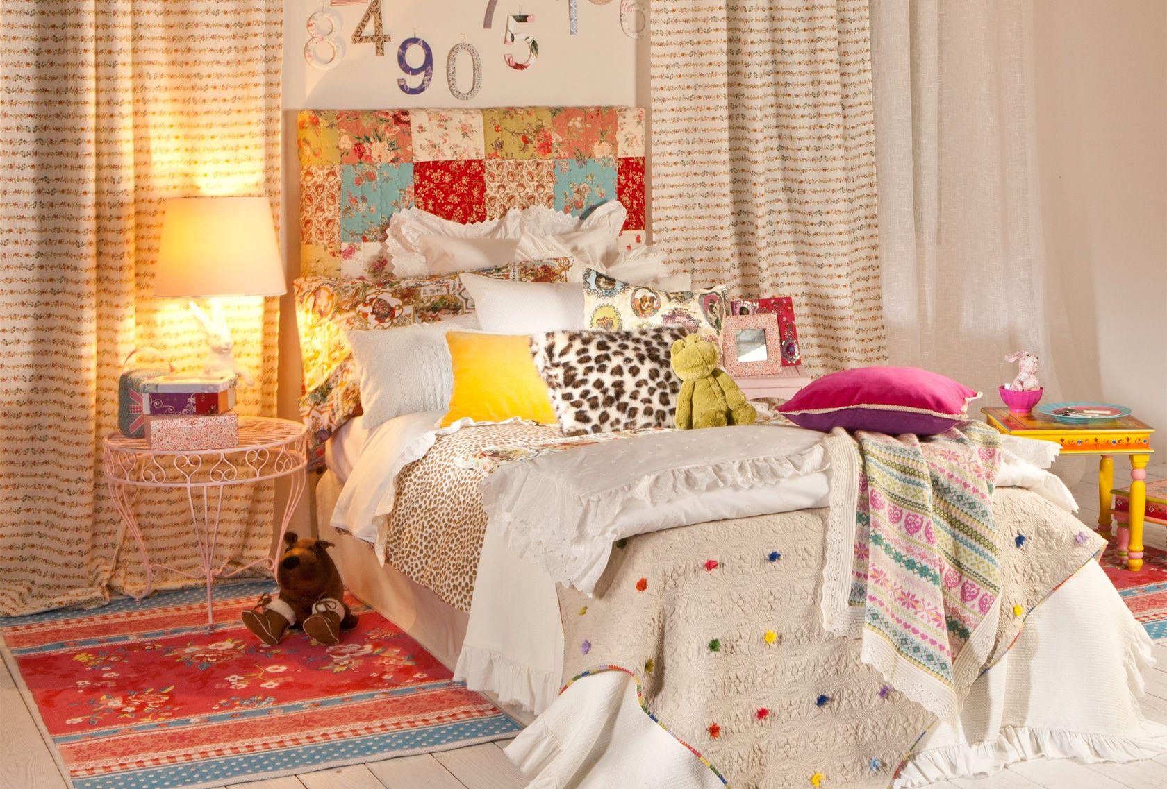 Decoración infantil. Zara Home Kids: Moda para niños y decoración infantil. España.