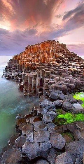 Giant's Causeway ~ Norte de Irlanda