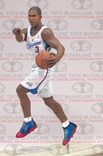 Chris Paul Los Angeles Clippers Nba 25 Mcfarlane Chris Paul Action Figures Los Angeles Clippers
