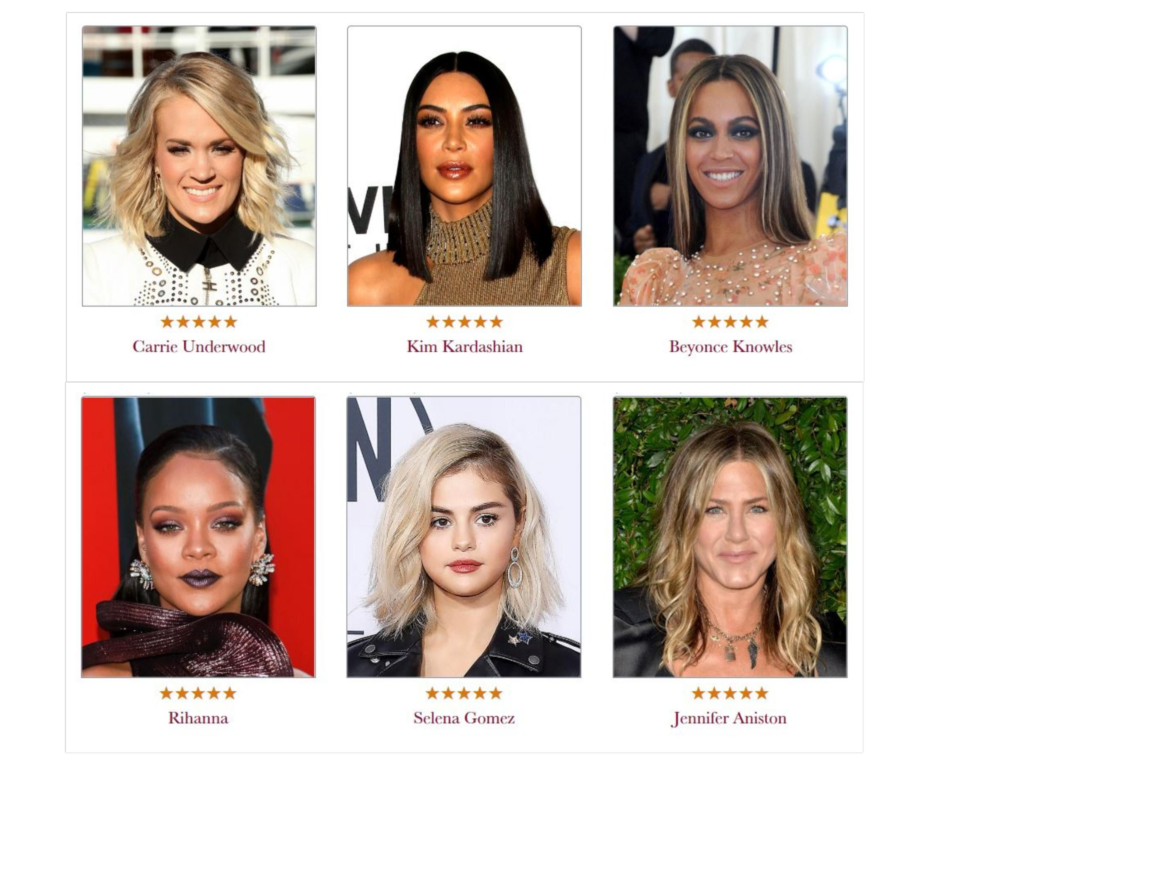 Celebrity Hairstyles in 3  style of hair cropped close to