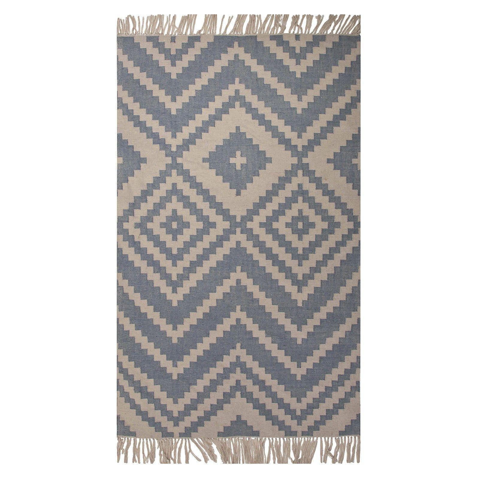 Indoor/Outdoor Tribal Triangles Rug : Target