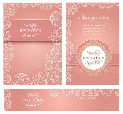 Wedding Invitation Card Templates Free Vector In Adobe Illustrator Ai Hindu Wedding Invitation Cards Marriage Invitation Card Wedding Invitation Card Design