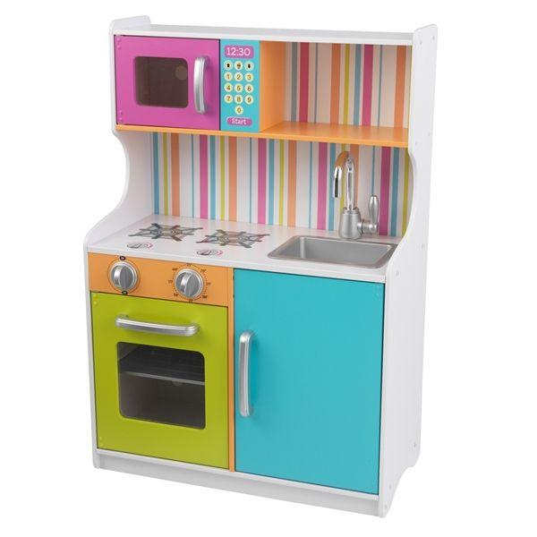 KidKraft Kinder Holz Spielküche Bright Toddler Kitchen - d-edition ...