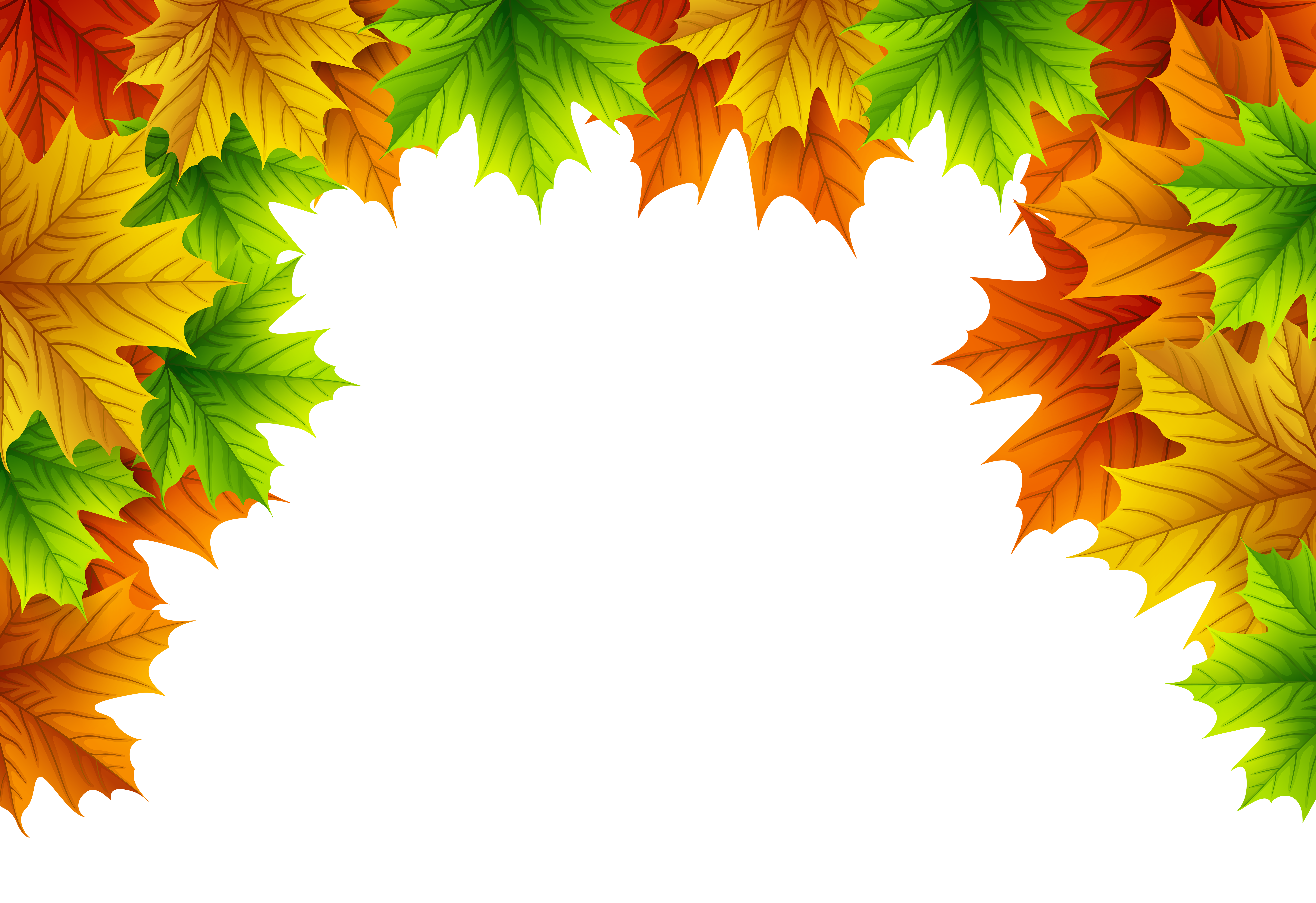 Autumn Leaves Decorative Top Border Png Image Gallery Yopriceville High Quality Images And Transparent Png Free Cli Autumn Leaves Png Images Free Clip Art