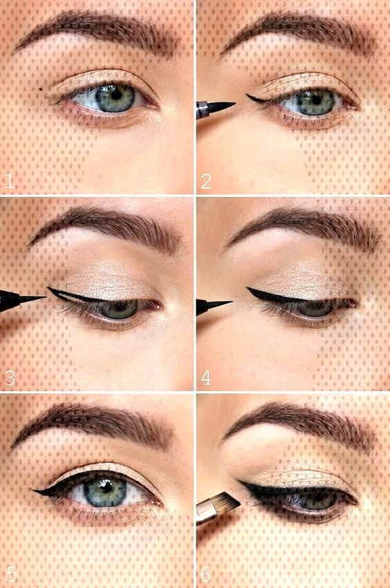 the easiest way to do winged eyeliner makeup How to perfect winged eyeliner? Easy tips for winged e