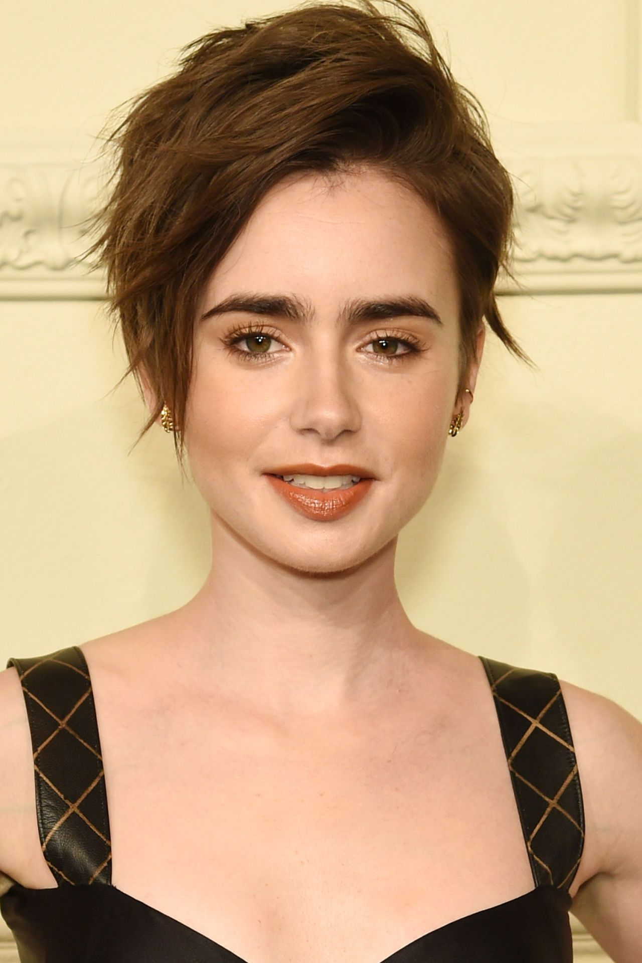 The top pixie haircuts of all time lily collins pixies and pixie cut