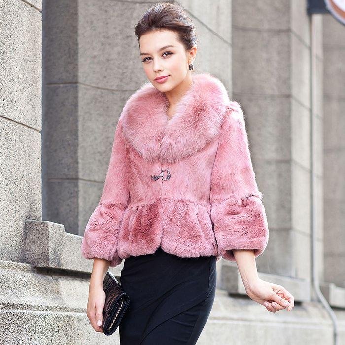 1000  images about Fur coats on Pinterest | Tibet Rabbit fur coat