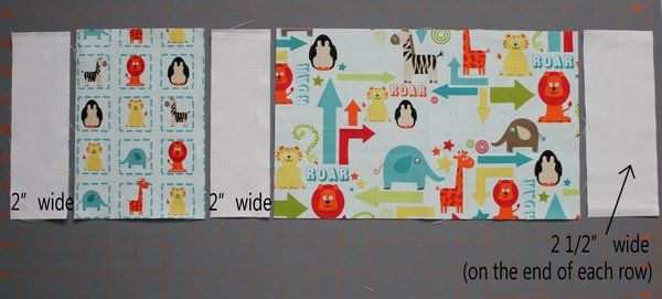 Riley Blake Designs -- Cutting Corners: Zoo Dwellers Quilt Tutorial