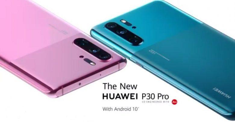 هاتف Huawei P30 Pro بتصميم و لونين جديدين مع اصدار آندرويد 10 Huawei Samsung Galaxy Samsung Galaxy Phone