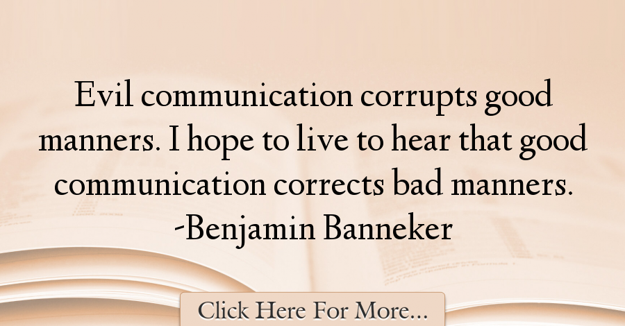 Benjamin Banneker Quotes About Hope 36259 Hope Quotes Quotes Benjamin Banneker