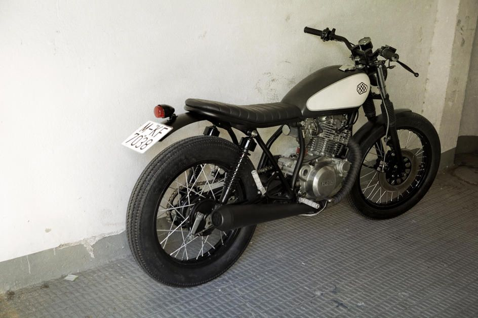 "yamaha sr 250 - crd#6 ""cream city bike"" / encargos de otros"