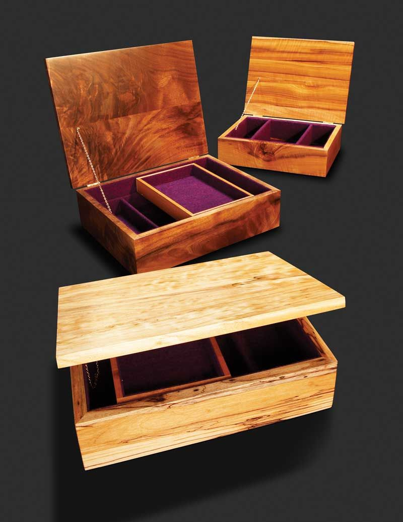 Wood Magazine Jewelry Box Plans : magazine, jewelry, plans, Simple, Jewelry, Woodworking, Projects, American, Woodworker, Plans,