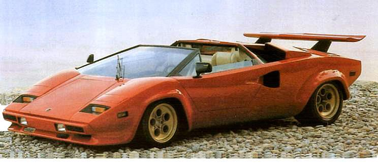 Lamborghini Countach Lp400 Spider Super Cars