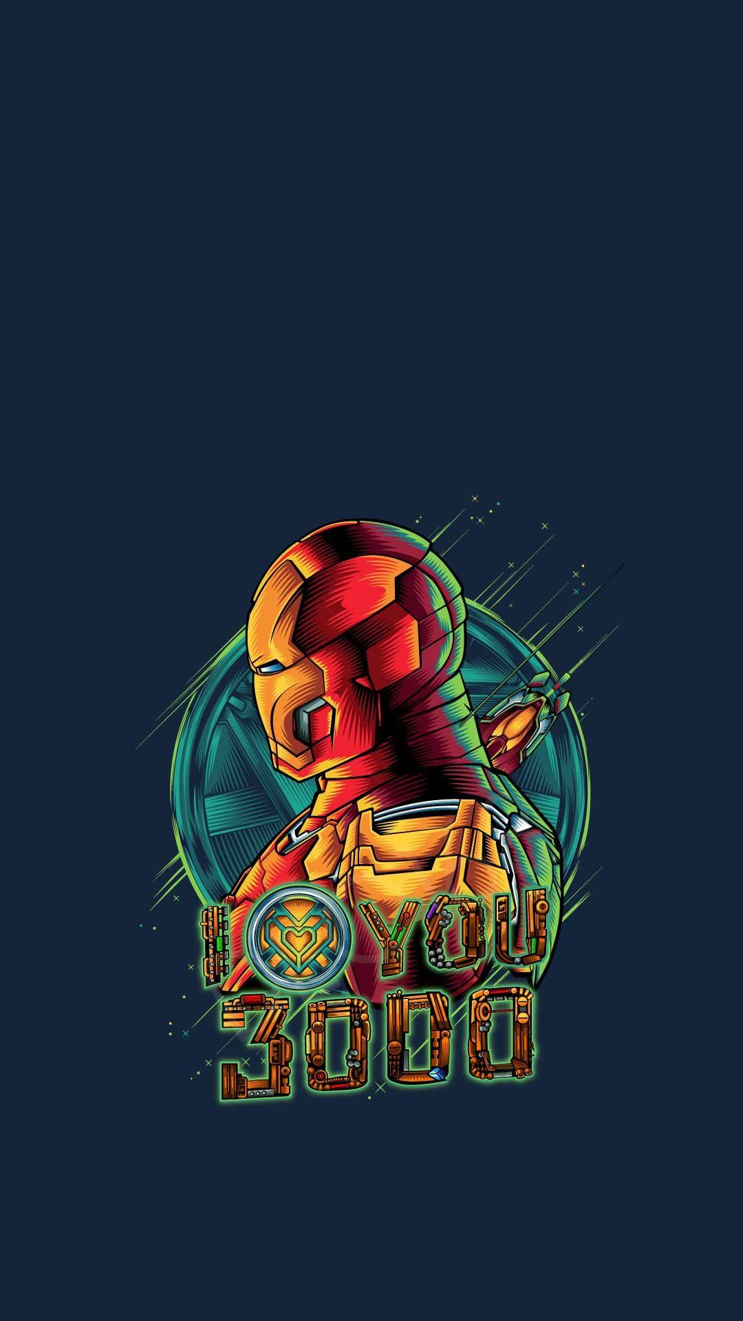 Iron Man Art I Love You 3000 Iphone Wallpaper Iron Man Art Marvel Iron Man Marvel Artwork
