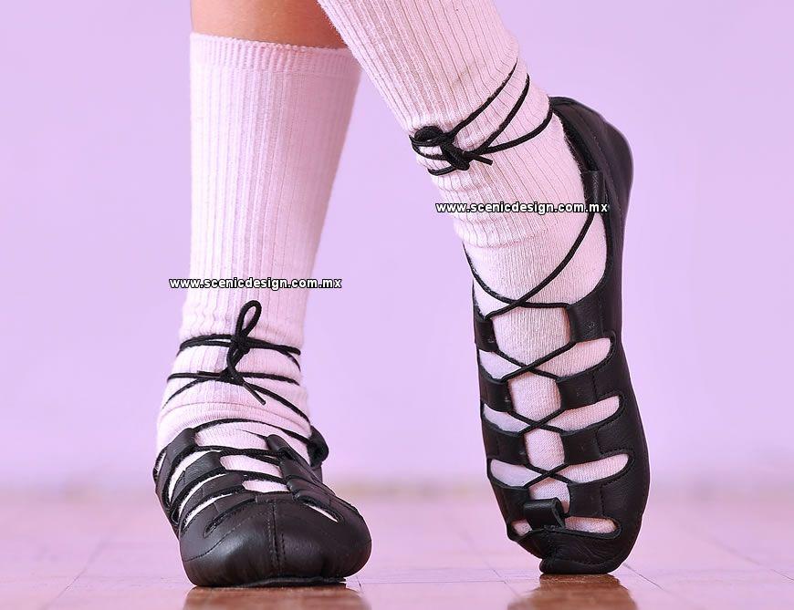 Baile Zapatillas De Para Calzado Danza Irlandes 5vwFqP