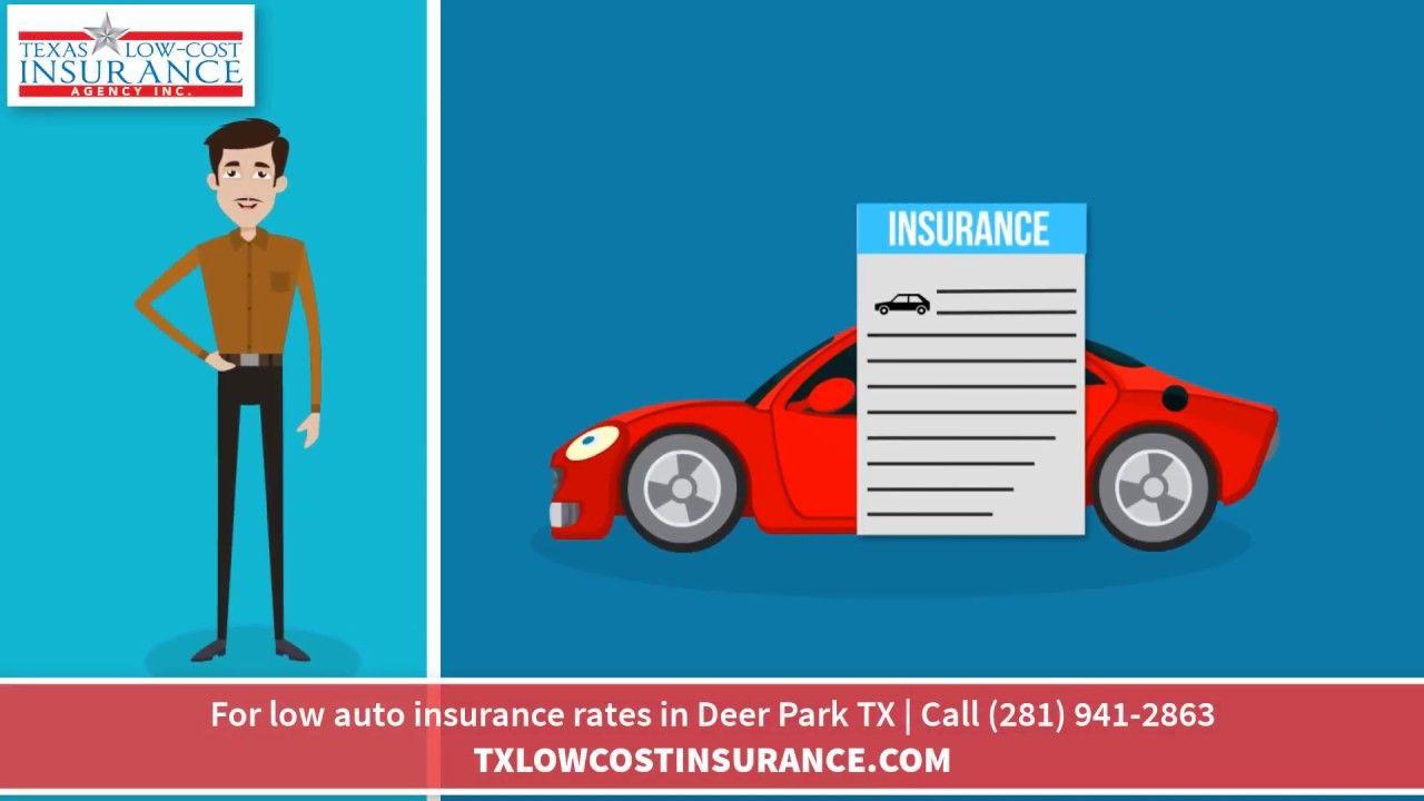 Best Auto Insurance Deer Park Texas 281 941 2863 Auto