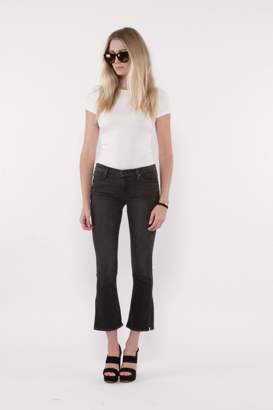 a5ae981e BLACK ORCHID Naomi Split Seam Boot Crop Jean. #blackorchid #cloth ...