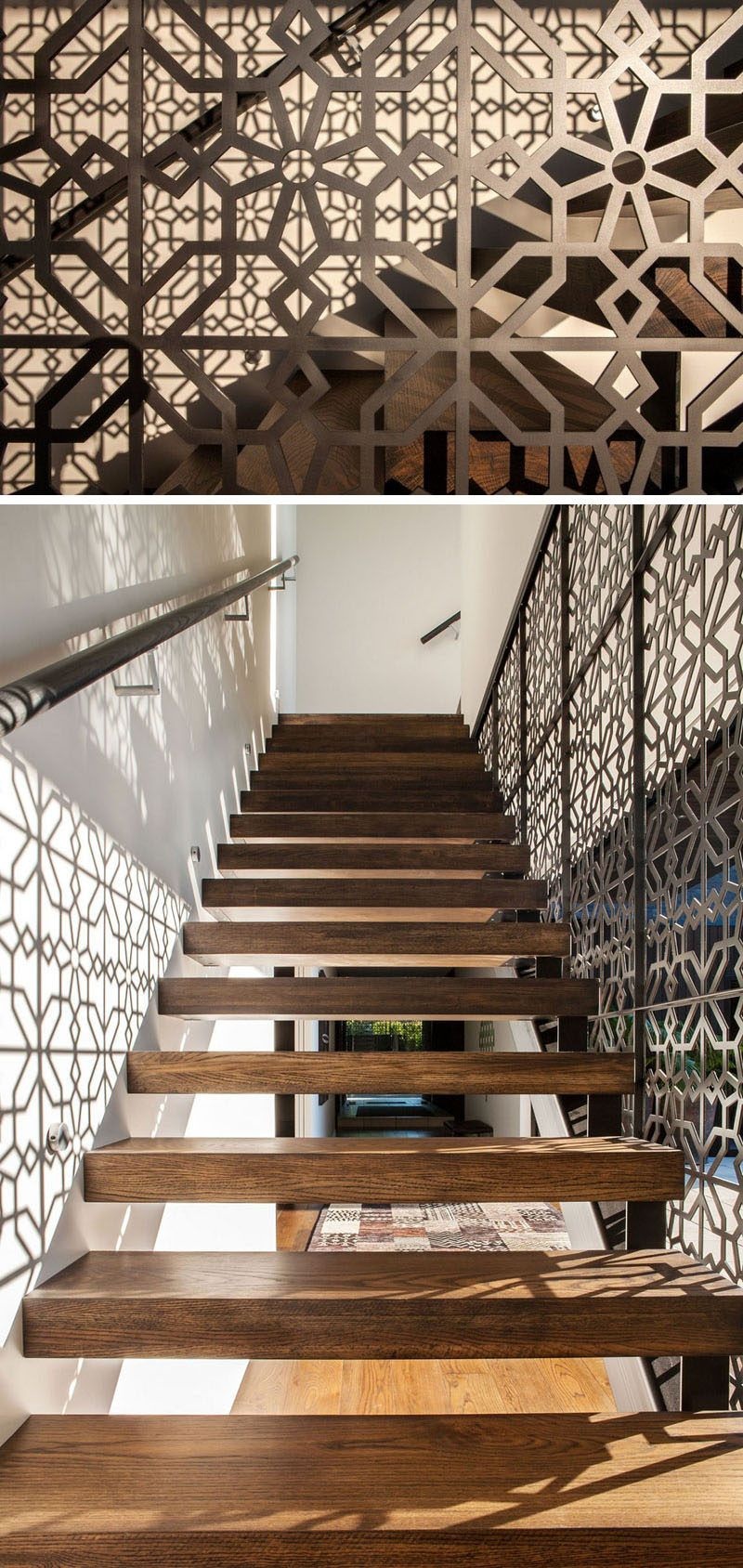 Best 11 Creative Stair Railings That Are A Focal Point In These Modern Houses Stair Railing 400 x 300