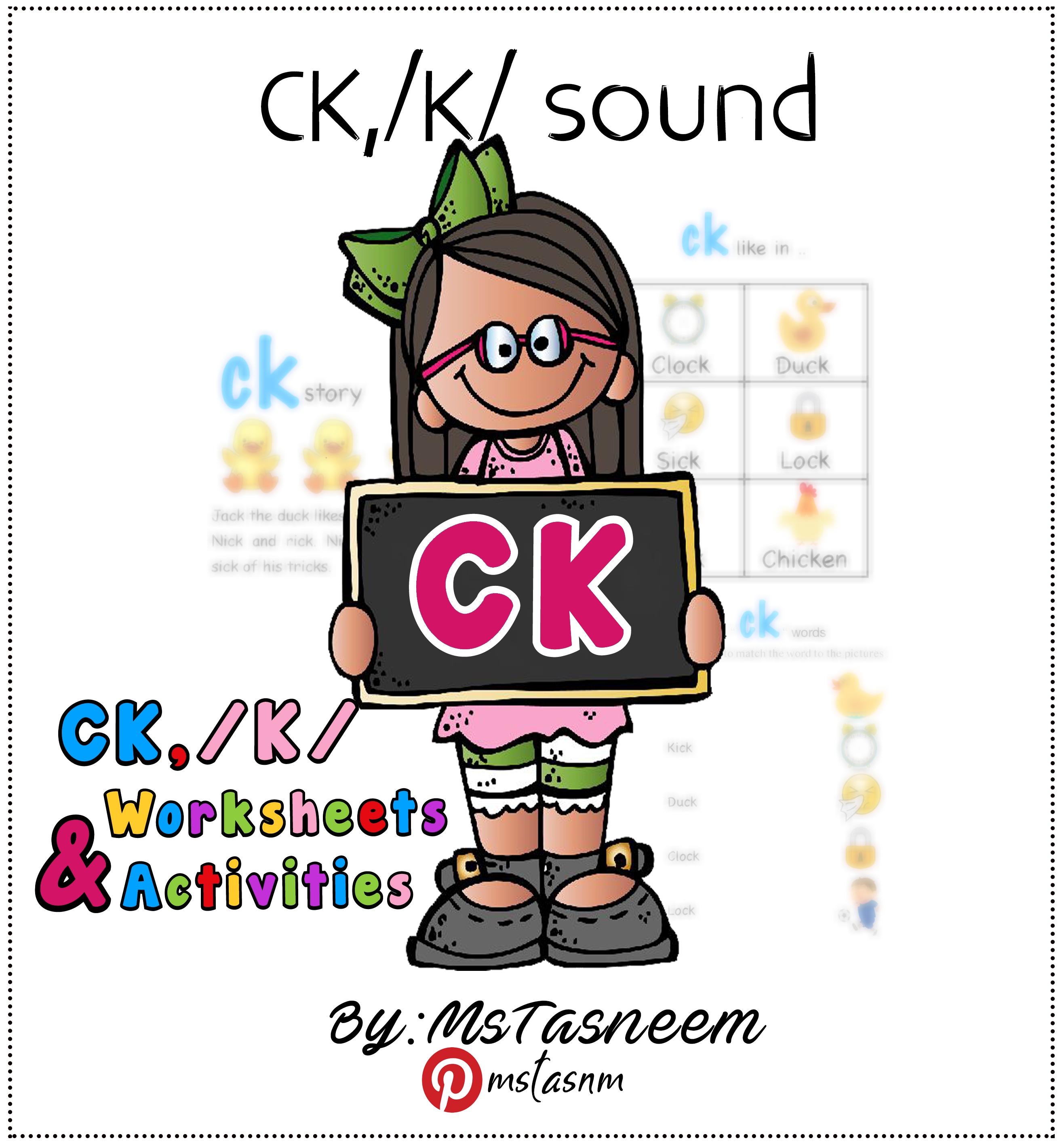 Ck Worksheets Amp Activities